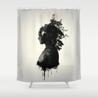 Mother Earth Shower Curtain by Nicklas Gustafsson