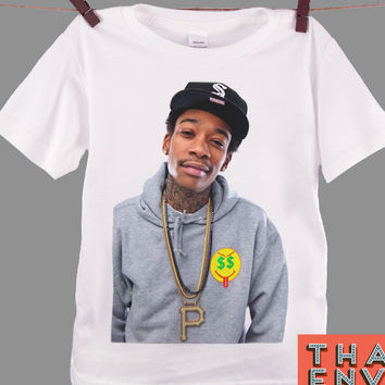 Wiz Khalifa Kids T Shirt - Rock Pop Hip Hop Rap Music T Shirts