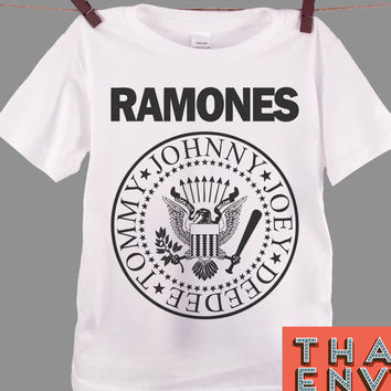 Ramones Kids T Shirt - Punk Rock Alternative Music T Shirts