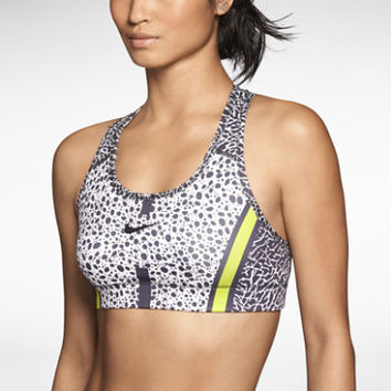 Nike Victory Compression Safari Women's Sports Bra - White