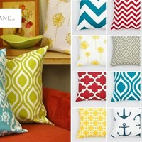 Pillow Covers-132 Fabric Choices! Quick Ship!