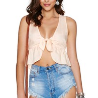 Nasty Gal Just Peachy Top