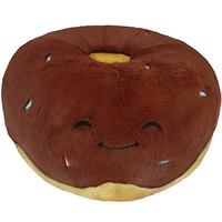 Squishable Chocolate Donut: An Adorable Fuzzy Plush to Snurfle and Squeeze!