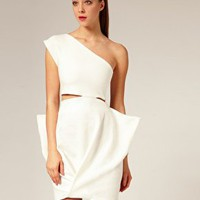 Aqua | Aqua Cut Out Cuckoo Dress at ASOS