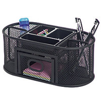 Office Depot Brand Metro Mesh Organizer Black by Office Depot