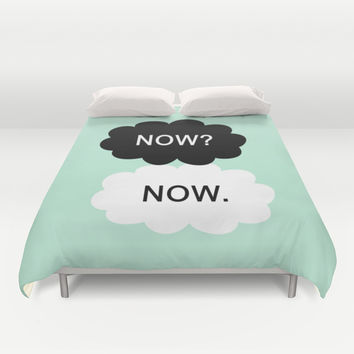 All We Have Is Now Duvet Cover by BeautifulHomes | Society6