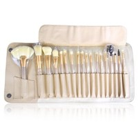 Ovonni® 18pcs Luxury Professional Makeup Cosmetic Brush Set with Korean Synthetic Hair