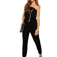 Papaya Clothing Online :: ESSENTIAL SOLID JUMPSUIT