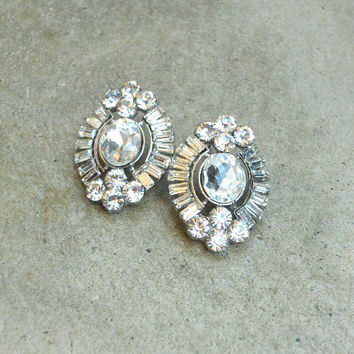 Bold Evenings Post Earrings [5887] - $14.00 : Vintage Inspired Clothing & Affordable Dresses, deloom | Modern. Vintage. Crafted.