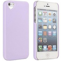 The Heart Shaped Jelly Ice Cream Case for iPhone 5/5S ( Color : Purple )