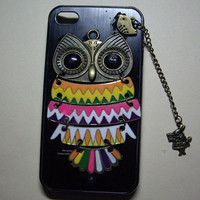 owlalice rabbitbirdIphone Case iPhone 4 by sweethearteverybody
