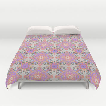 Faded Moroccan Duvet Cover by k_c_s | Society6
