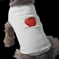 You are the Apple of my Eye Dog T-shirt from Zazzle.com