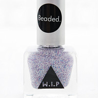 Beaded Nail Polish in Purple - Urban Outfitters