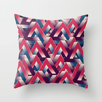 Impossible Pattern Throw Pillow by Danny Ivan
