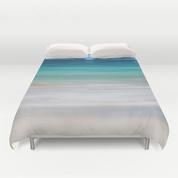 SEA ESCAPE Duvet Cover by Catspaws | Society6
