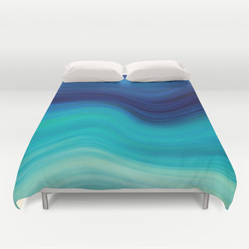 SEA BEAUTY 2 Duvet Cover by Catspaws | Society6