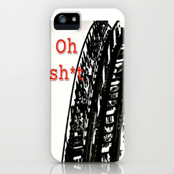 Oh Sh*t iPhone & iPod Case by Laura Santeler