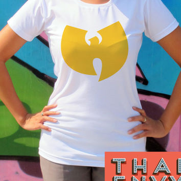 Wu-Tang Clan Womens T Shirt - Rock Pop Hip Hop Rap Music T Shirts