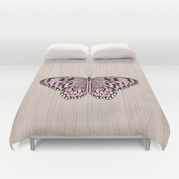 Butterfly Duvet Cover by Ornaart