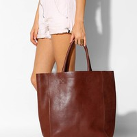 BDG Tumbled Leather Tote Bag - Urban Outfitters