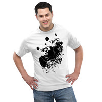 Exclusive Smithsonian Intellectual Pandas T-Shirt - White,