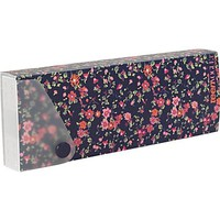 Teen Vogue Fashion Pencil Case, Blue Floral