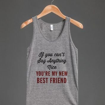Athletic Grey Tank | Funny Sassy Shirts
