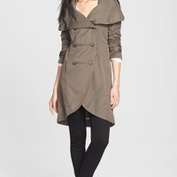 'Malka' Double Breasted Trench Coat