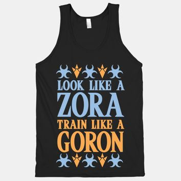 Look Like A Zora Train Like A Goron