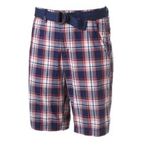 Urban Pipeline® Plaid Flat-Front Shorts - Men