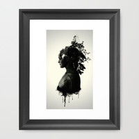 Mother Earth Framed Art Print by Nicklas Gustafsson
