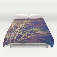 strange days Duvet Cover by Sylvia Cook Photography