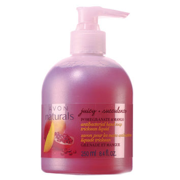 Avon: Naturals Juicy Pomegranate & Mango Antibacterial Liquid Hand Soap