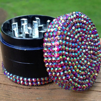 GRINDER -- Iridescent HOT PiNK top/bottom
