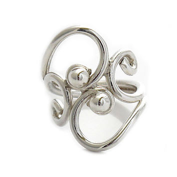 "Sterling Silver Rings | ""Equilibrium"" 