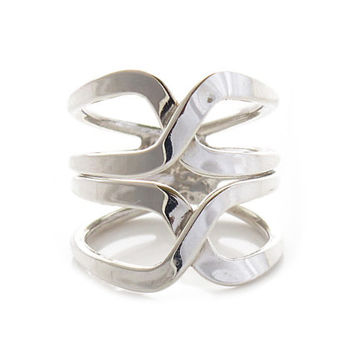 "Sterling Silver Rings | ""Abrázame"" 