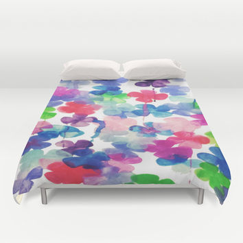 Garden Duvet Cover by DuckyB (Brandi)