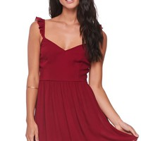 LA Hearts Flutter Tank Dress - Womens Dress