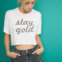 TRINA STAY GOLD TOP