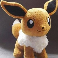 Sole Trader @ Pokemon Plush Eevee Doll (Size L Large) Around 30cm 12""