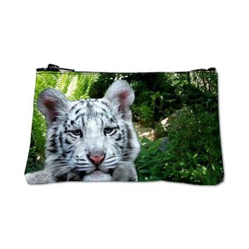 White Tiger Coin Purse