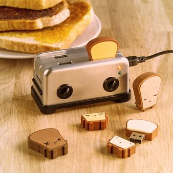 USB Toast Flash Drives