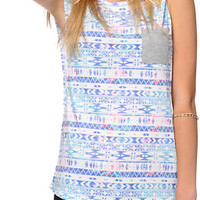 Empyre Lauryn Multi Tribal Muscle Tee