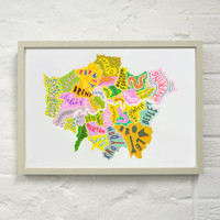 London Boroughs Two Print