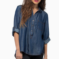 Hard At Work Denim Top $34