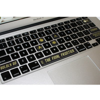 Mac Keyboard Stickers Trekki Keycal Decals