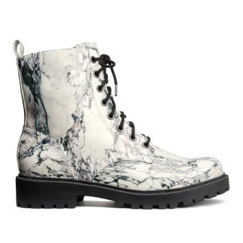 Lace-up Boots - from H&M