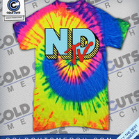 "Cold Cuts Merch - Neck Deep ""NDTV"" Tie Dye Shirt"