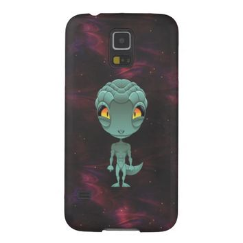 Cute Reptilian Alien Samsung Galaxy S5 Case